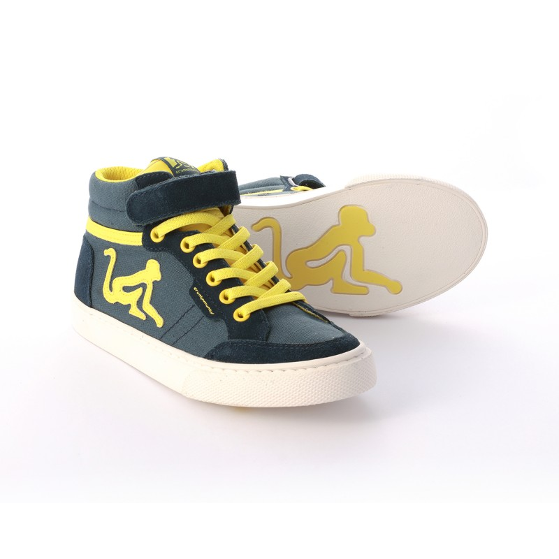 Drunknmunky Boston Vitaminix Navy-Yellow K81
