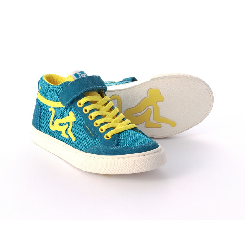 Drunknmunky Boston Mid-Mesh Royal-Yellow K13